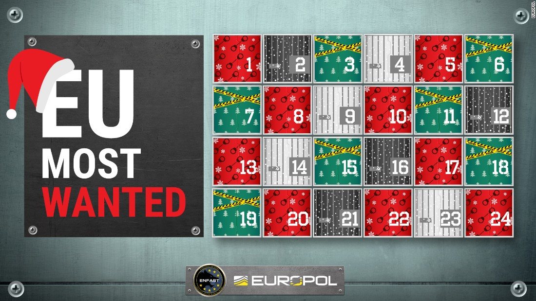 Europol Advent Calendar A Criminal For Christmas