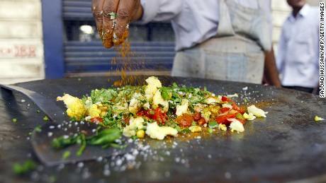 Mumbai street food image