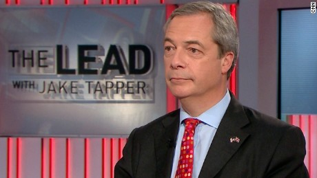 nigel farage the lead