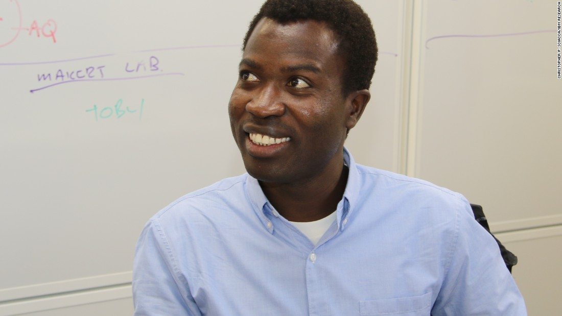 "Reliable and up-to-date information on new occurrences of cancer within Africa is notoriously difficult to collect. The team wants to work towards faster data collection within South Africa and more widely across the African continent. ""By tracking data digitally and pooling efforts across Africa, we can attempt to improve the accuracy of incidence figures,"" explains Siwo (pictured)."