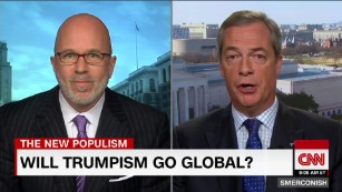 Related: 'Mr. Brexit' on Trump's anti-globalism