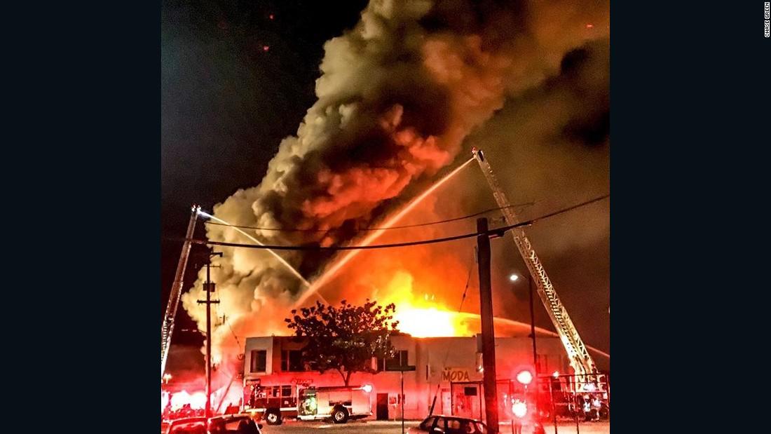 Http Www Cnn Com 2016 12 05 Us Oakland Fire Investigation