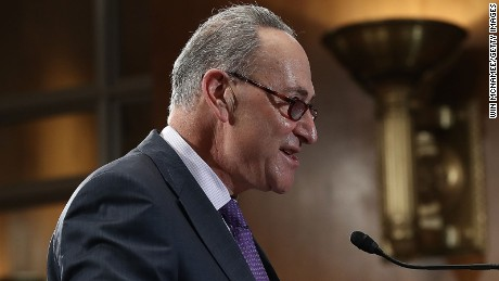 Sen. Chuck Schumer (D-NY), the next Senate Minority Leader, speaks during a press conference December 1, 2016 in Washington, DC.