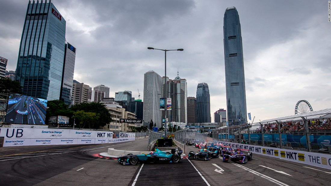 Formula E cars raced around the Central Harborfront in October with 2015/16 world champion, Sebastien Buemi coming out on top.