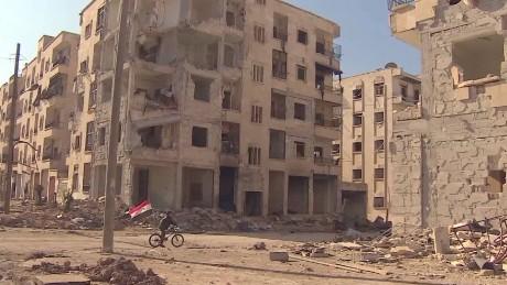 Aleppo final battle Pleitgen pkg _00001312.jpg
