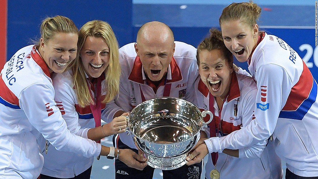 "The Czech Republic won the <a href=""https://www.facebook.com/cnnopencourt/"" target=""_blank"">Fed Cup title for the fifth time </a>in the last six seasons when it also rallied from 2-1 down to beat France in the final. The Czechs became the most successful team in the competition since the US won seven titles in a row from 1976-82."