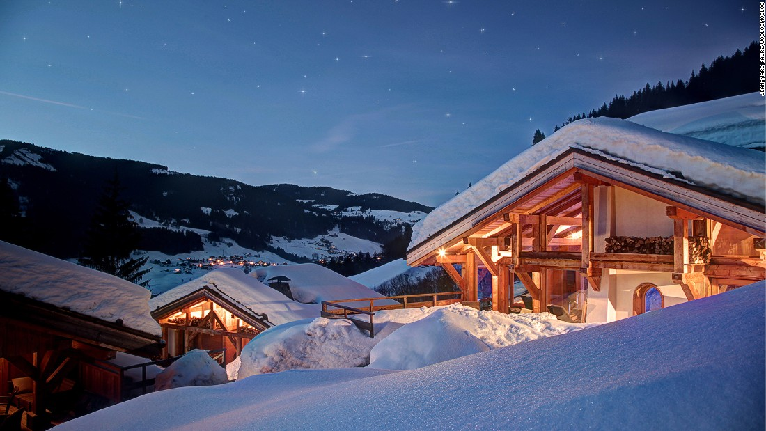 Sitting on the outskirts of France's Megeve, near Mont Blanc, Flocons de Sel won its third Michelin star in 2012.