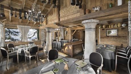 La Bouitte: The highest three-star Michelin restaurant in Europe.