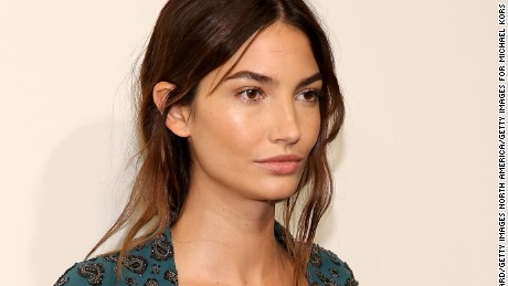 NEW YORK, NY - SEPTEMBER 16:  Model Lily Aldridge attends the Michael Kors Spring 2016 Runway Show during New York Fashion Week: The Shows at Spring Studios on September 16, 2015 in New York City.  (Photo by Neilson Barnard/Getty Images for Michael Kors)