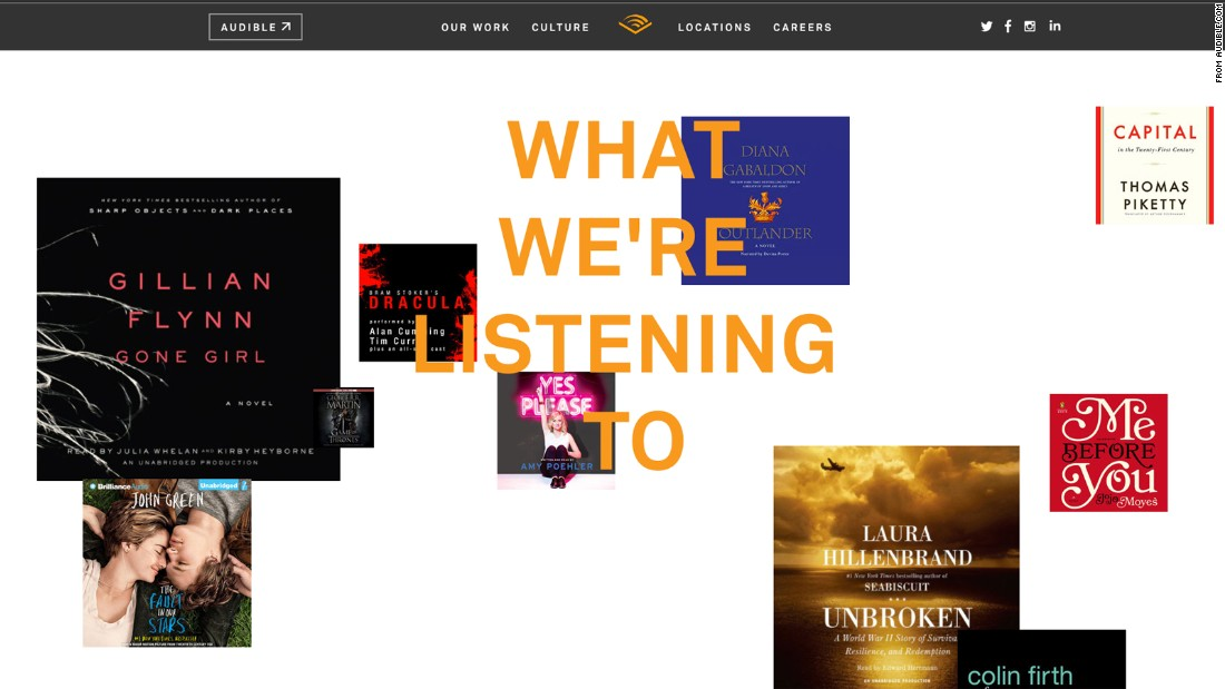 <strong>Audible:</strong> A three-month gift membership for audiobooks is $45. Other memberships are also available at audible.com/mt/giftmembership. Audible requires an Amazon account to sign up. It also offers one month of free membership.