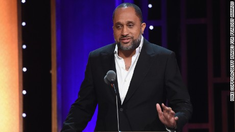 Kenya Barris speaks onstage at The 75th Annual Peabody Awards Ceremony at Cipriani Wall Street on May 21, 2016 in New York City.