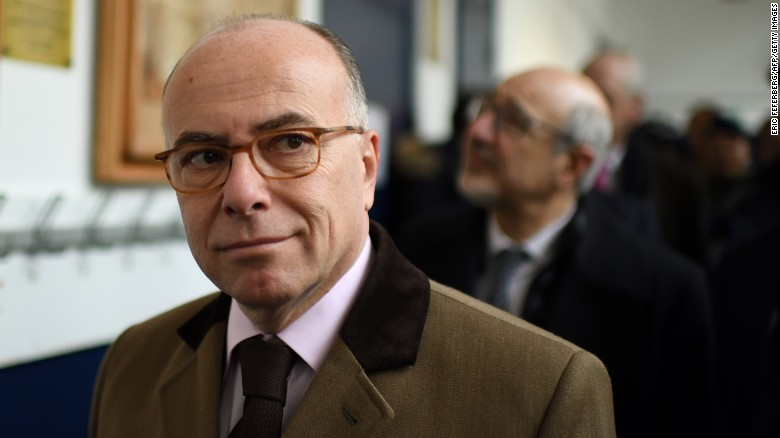 French Interior Minister Cazeneuve appointed prime minister