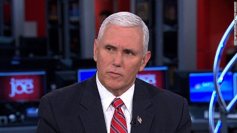 Pence: Flynn's son not official aide
