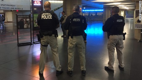 DHS police at LA's Union Station