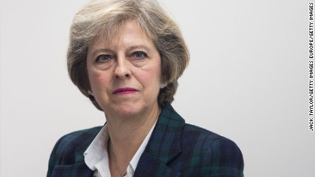 "Theresa May said anyone in Britain guilty of anti-Semitism ""will be called out on it."""