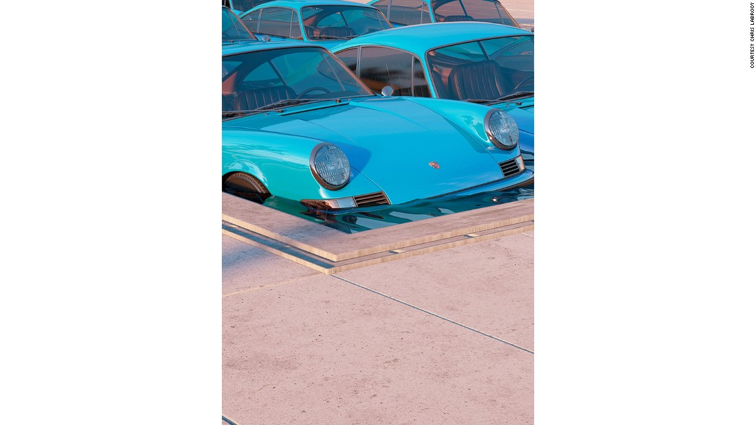 "His most recent series, ""911,"" centers on the Porsche 911 Carrera RS."
