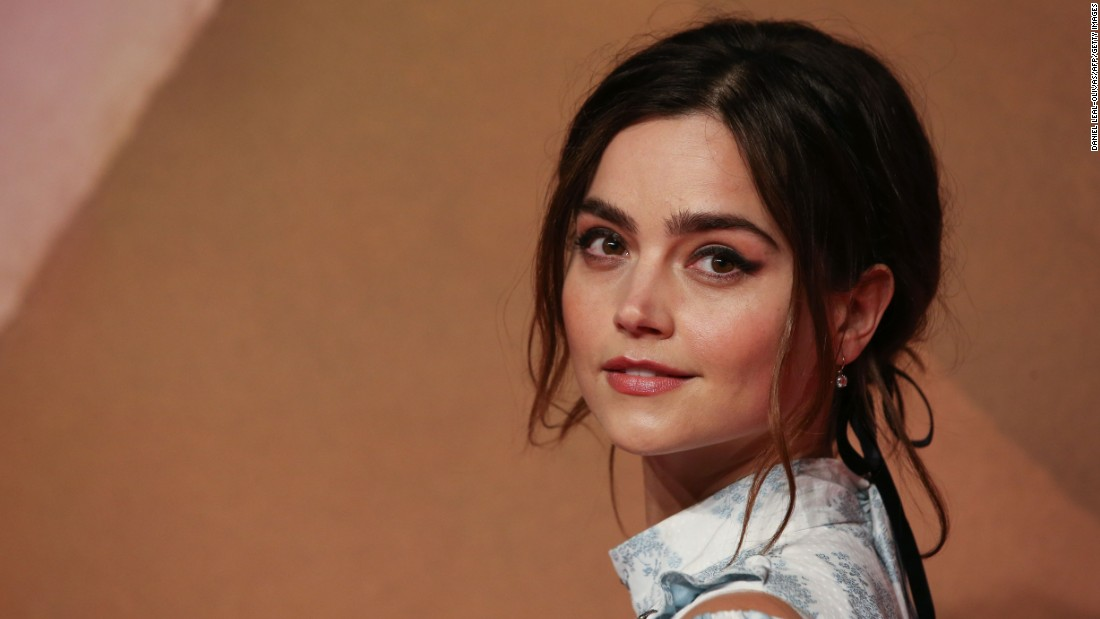 British actress Jenna Coleman was in attendance.