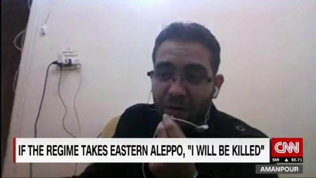 'I am going to be killed' in Eastern Aleppo
