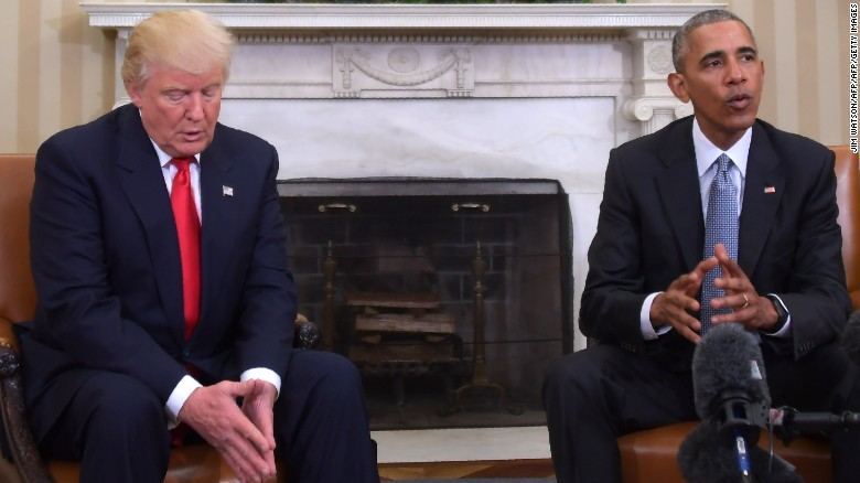 Trump: I love getting Obama's ideas