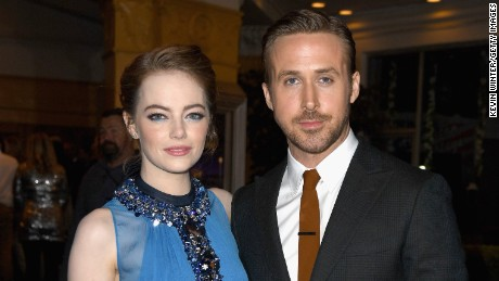 "Emma Stone and Ryan Gosling attend the premiere of Lionsgate's ""La La Land"" at Mann Village Theatre on December 6, 2016 in Westwood, California."