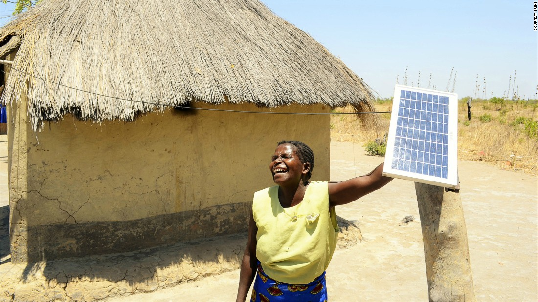 The company hopes the investment will open up business opportunities for African entrepreneurs who sell solar power kits.