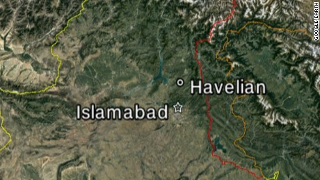 Pakistan locator map