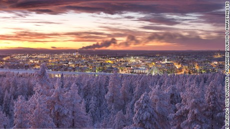 Rovaniemi has been the administrative center of Lapland since 1938.
