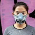 Wang Zhijun pollution mask 12