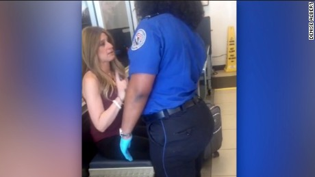 Breast cancer patient livid after TSA search