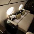 G650 interior seats converted