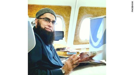 "This photo posted to Junaid Jamshed's Facebook page on October 23 is accompanied by the description, ""Going in the path of ALLAH."""