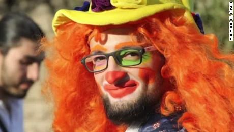 clown of aleppo killed in airstrike intv mahmoud al basha _00010417.jpg