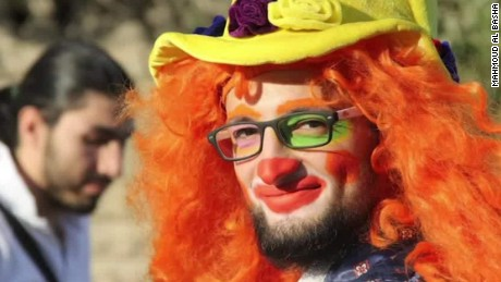 clown of aleppo killed in airstrike intv mahmoud al basha _00010417.jpg