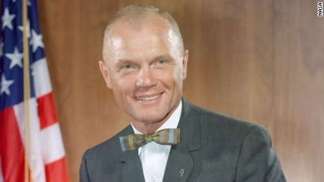 December, 1962 - Official portrait photograph of Astronaut John H. Glenn, Jr., the first American to orbit the Earth in a Project Mercury Spacecraft.