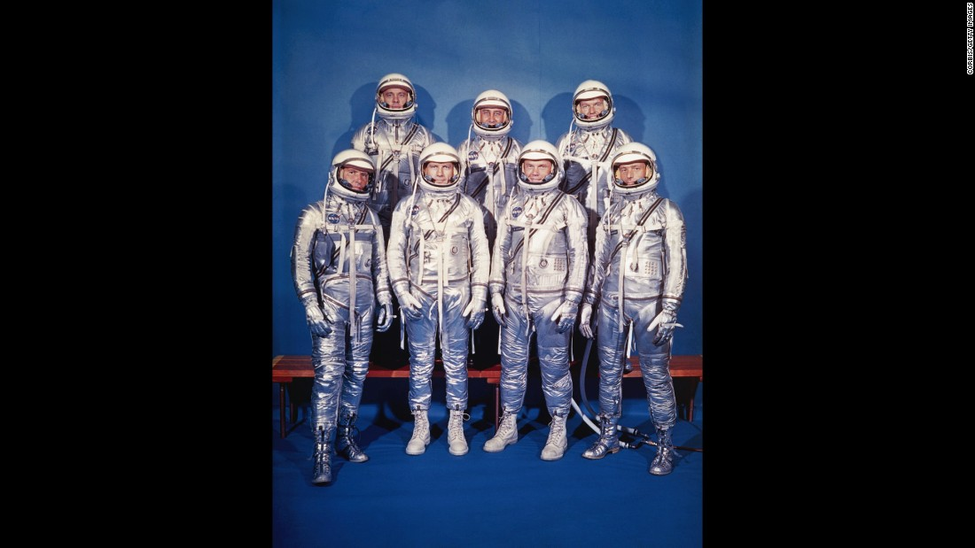 "The astronauts instantly became national heroes and media sensations. Decades later they were immortalized in the Tom Wolfe best-seller ""The Right Stuff"" and subsequent film."