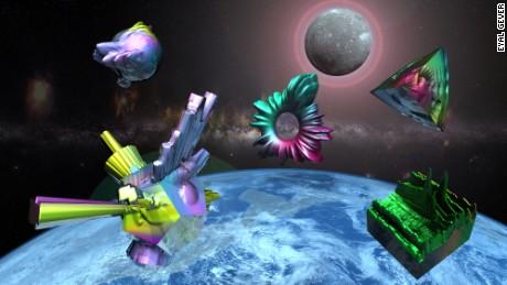 11 Eyal Gever 3D Art
