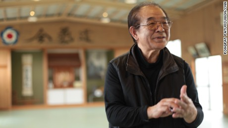 """""""He was like a god,"""" says 75-year-old Shihan Gomita when asked to describe his time training with Aikido founder Morihei Ueshiba."""