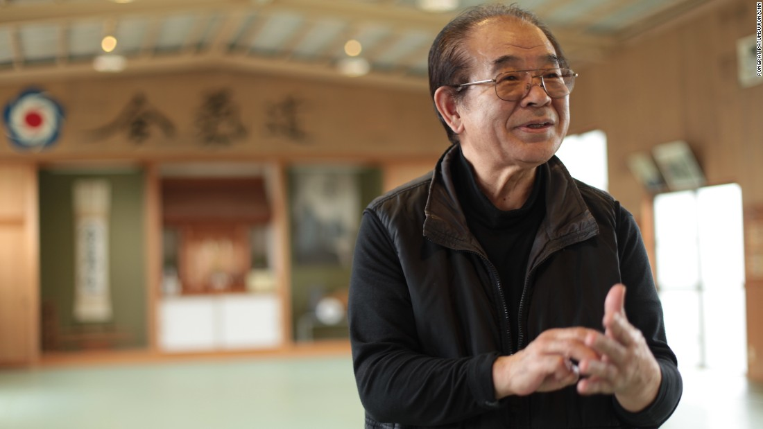 "Japanese chiropractor Seiji Gomita is one of few who can claim to have trained under aikido founder Morihei Ueshiba. ""He was like a god,"" says the 75-year-old, who continues to teach aikido in his Tanabe City dojo."