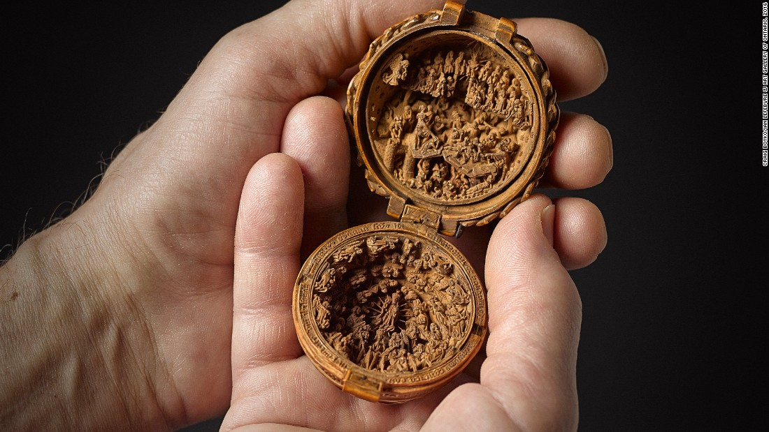 At the Art Gallery of Ontario, experts are exhibiting new findings about how famed 500-year-old boxwood miniature carvings were constructed.