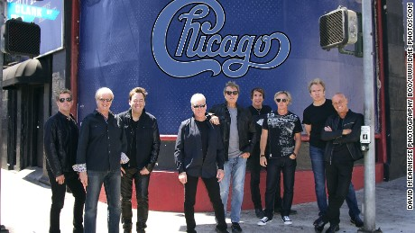 "The iconic band ""Chicago"" gathers outside LA's historic Whisky a Go Go, where they cut their teeth in the 1970s. With more than 100 million albums sold, these rock and roll hall of famers rank among the best-selling bands of all time."