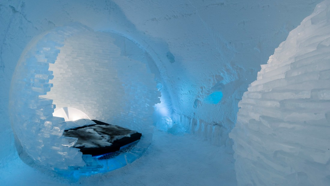 "The<a href=""http://edition.cnn.com/2016/12/08/hotels/sweden-icehotel-2017/"" target=""_blank""> ICEHOTEL</a> has been popping up in Northern Sweden every year during the cold winter months since 1989, when it was crowned the world's first ever ice hotel."