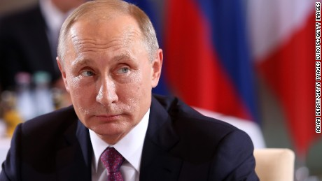 Putin: Rebels may use chemicals, blame Assad