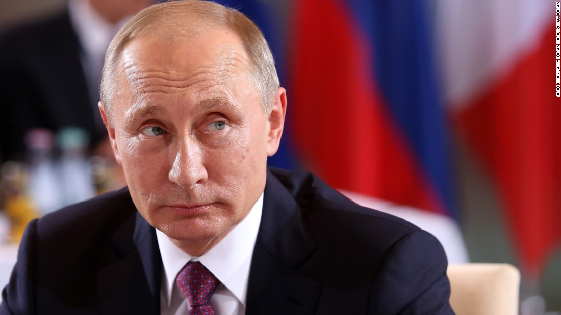 Why Putin is world's most powerful man