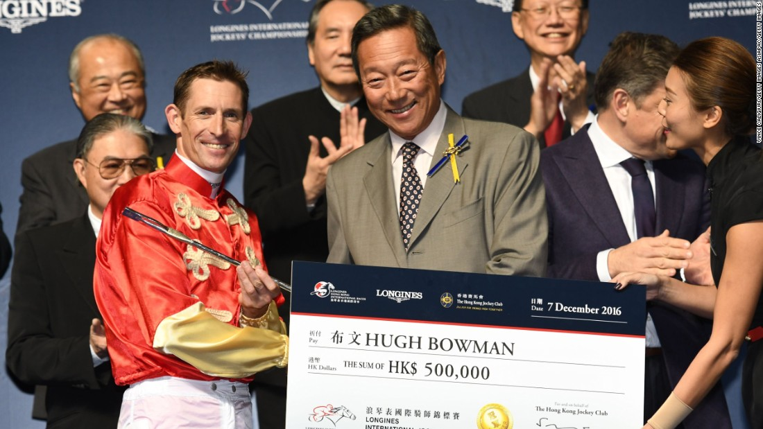 Bowman's reward for his night's work was a check for $65,000.