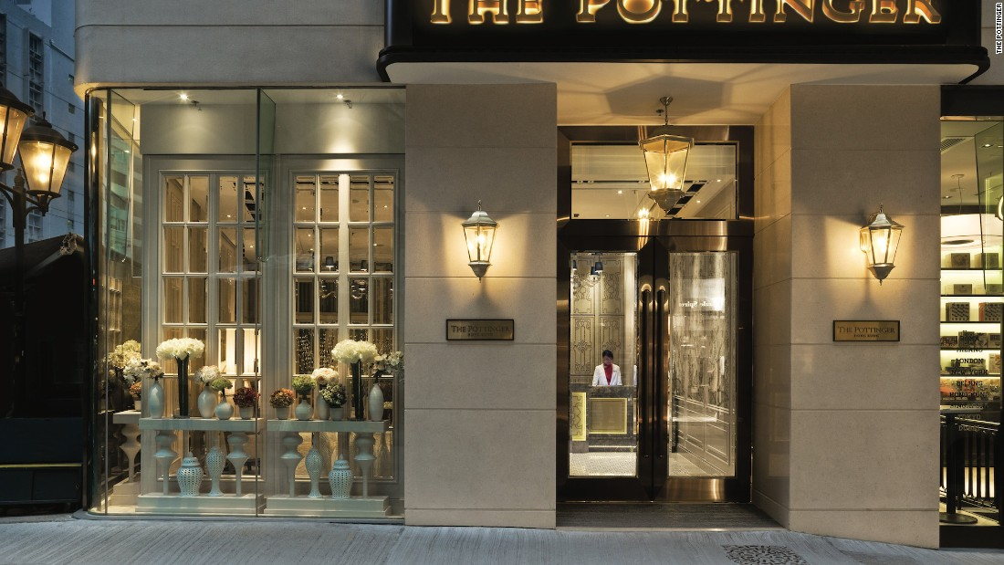 The Pottinger harks back to one of Hong Kong's defining periods, the 1950s.