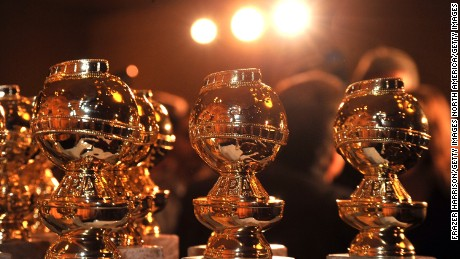 Golden Globe statuettes are on display during an unveiling by the Hollywood Foreign Press Association at the Beverly Hilton Hotel on January 6, 2009 in Beverly Hills, California.  (Photo by Frazer Harrison/Getty Images)