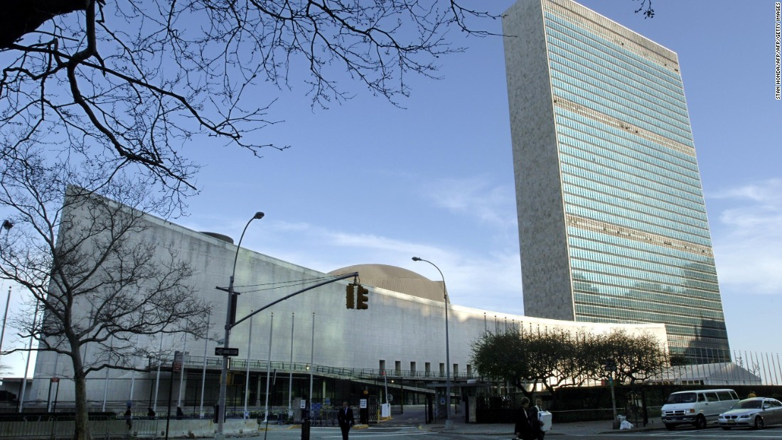 An early example of the glass skyscraper, the United Nations headquarters in New York City is officially international territory -- and not actually part of the United States.