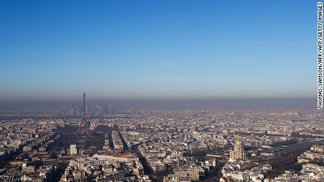 City officials in Paris have taken measures to improve air quality making public transport free of charge.