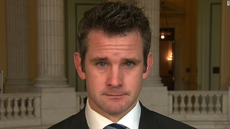 Rep. Kinzinger tears up during interview