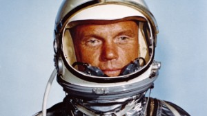 Astronaut John H. Glenn, Jr., in his Mercury flight suit. Credit: NASA